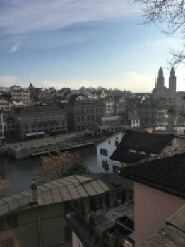 Touring a new city on your own is never easy, especially when everything looks so spread out. We took a 2 hour guided tour of Zurich to get our bearings