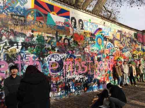 Prague Lennon wall
