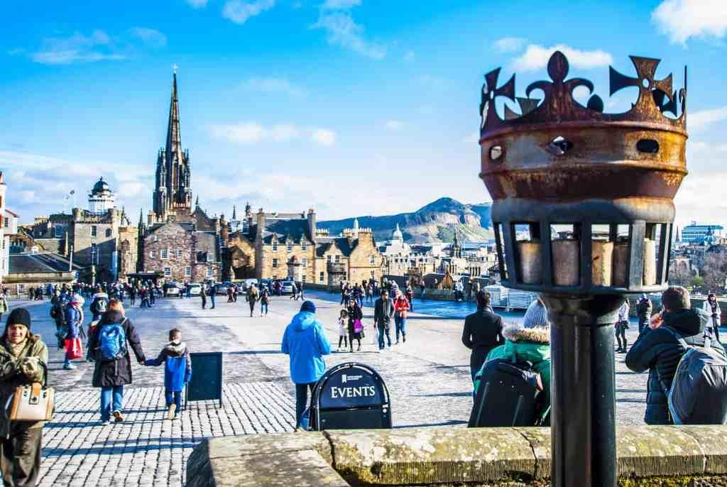 scotland edinburgh castle