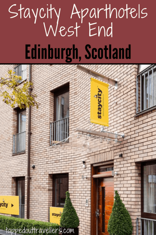 Perfect Edinburgh hotel/apartment for the whole family, close to the city center. Staycity Aparthotels West End