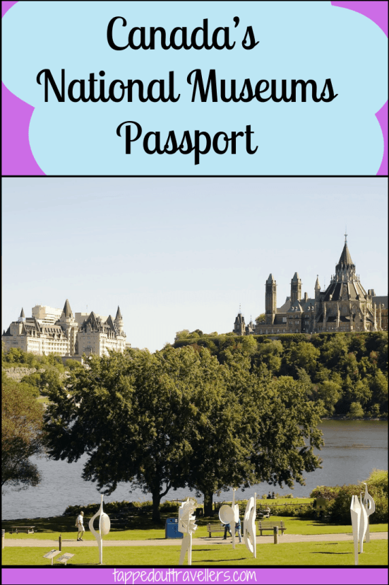 Canada's National Museums Passport. Experience 3 museums in 3 days for 30% off