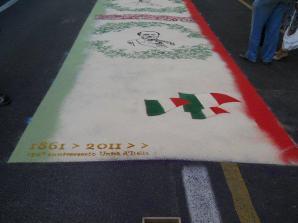 2011-Anniversario dell'Unità d'Italia(Compagnia Storica Palio dell'Assunta)