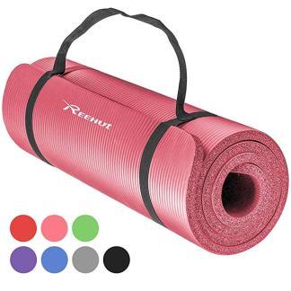 tappetino antiscivolo physio 1cm rosa yoga