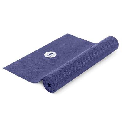 tappetino da yoga antiscivolo mudra studio blu