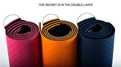 tappetino TPE ecologico JAS Namaste 6mm colori