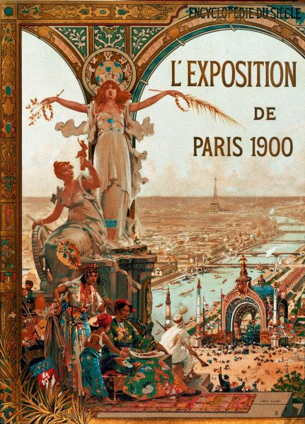 Paris Exposition Poster 1900