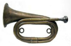 figure 2-1918 WWI trench bugle