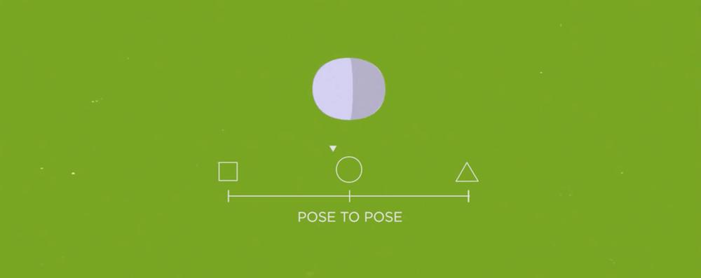 ux motion design pose to pose principle