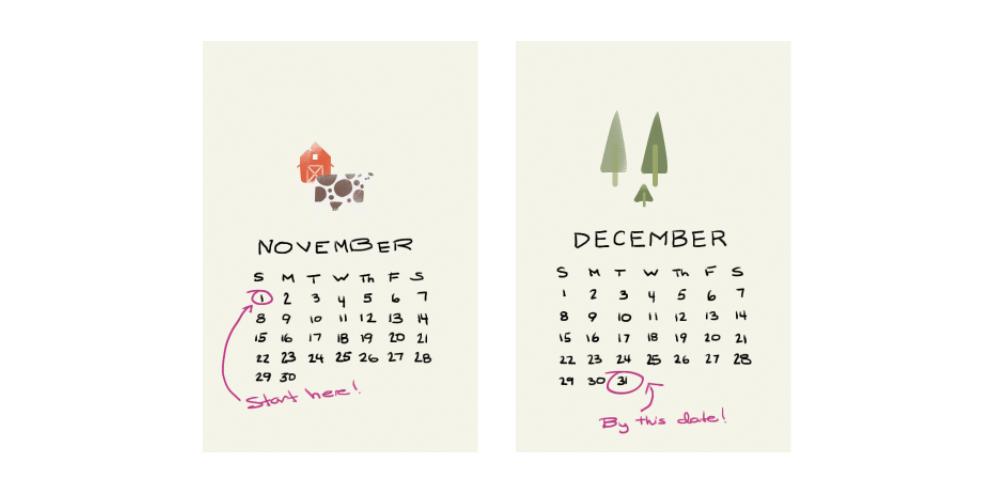 Nurturing creativity. Setting deadlines