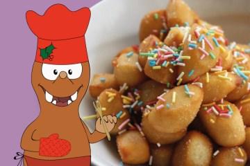 Italian Christmas recipes on Tapsy Blog: struffoli
