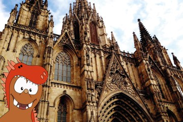 Saint Eulalia Cathedral of Barcelona_Tapsy Tours for families with kids