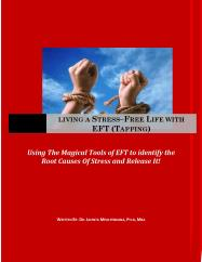 Living a stress-free life with EFT - book cover1
