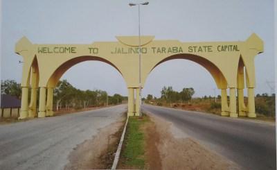 The Gateway Into the City of Jalingo- Taraba