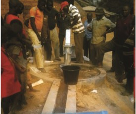 Borehole in Ambwe Community.