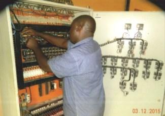 Repairs in the Control Panel