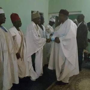 Ichen Elders pay Courtesy Call to Gov. Ishaku