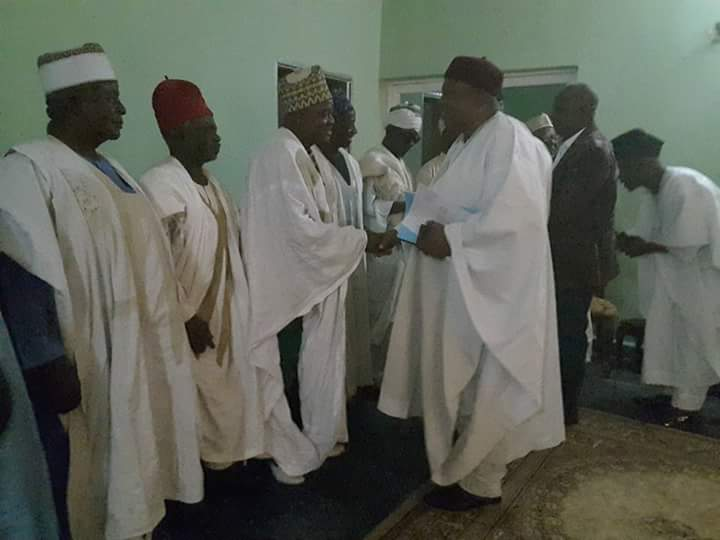 Ichen Elders Pledges Loyalty and Support for Gov. Darius Ishaku's Administration