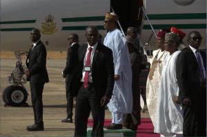 President Buhari visits Jalingo