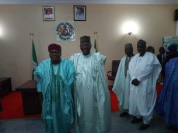 Former Governor of Jigawa State and Presidential aspirant on the platform of PDP, Alh. Sule Lamido visits Taraba state