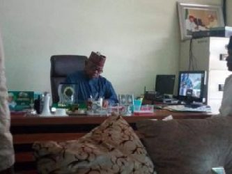 Permanent Secretary, Bureau for Local Government and Chieftaincy Affairs, Alh. Bello Yero.