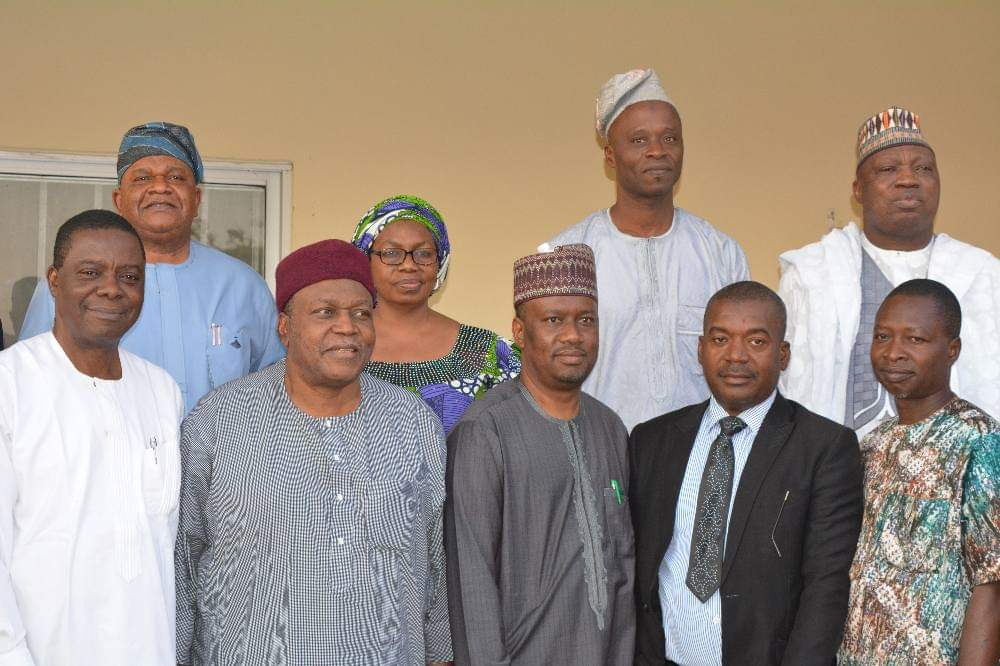 Chairman, Board Members, FMC Jalingo Visit Governor Ishaku