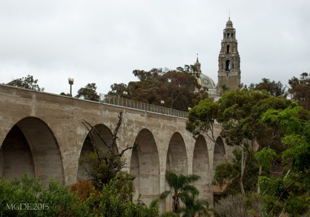 Cabrillo Bridge and California Bell Tower