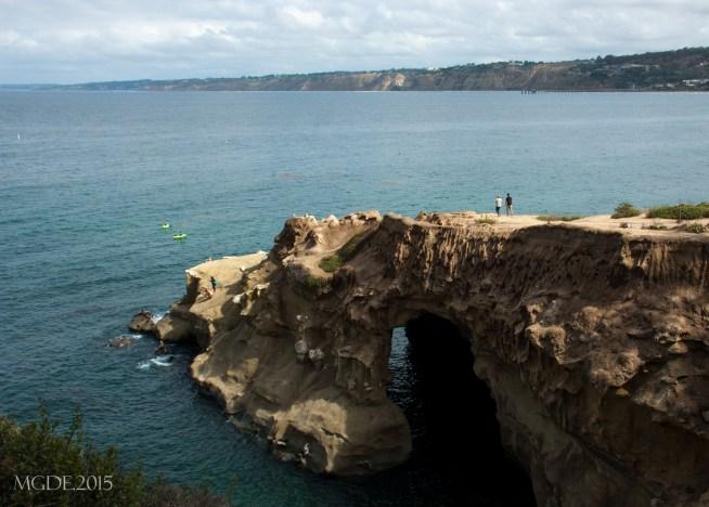 La Jolla cave and cliffs