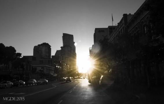 Gaslamp at downtown