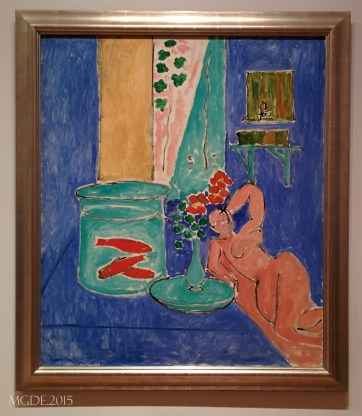 Goldfish and Sculpture by Henri Matisse, 1912.