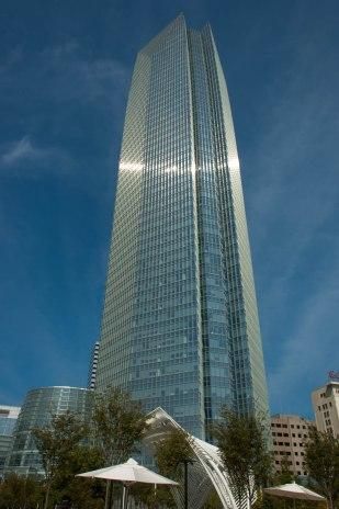 The Devon Energy Center, the 50-story corporate skyscraper in downtown OKC.