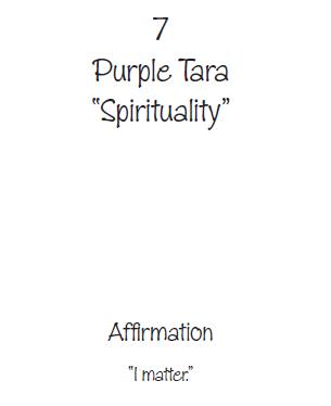 Purple Tara