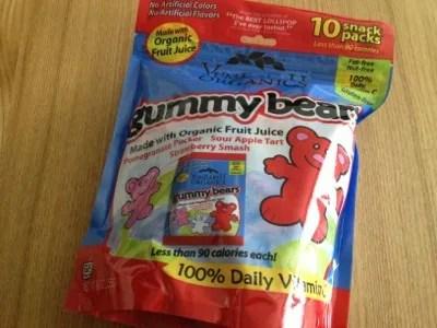 【グミ】 Yummy Earth Organic Gummy Bears