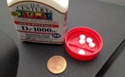 【ビタミンD3】カルシウムの吸収を良くする21st CenturyVitamin D3, 1000 IU