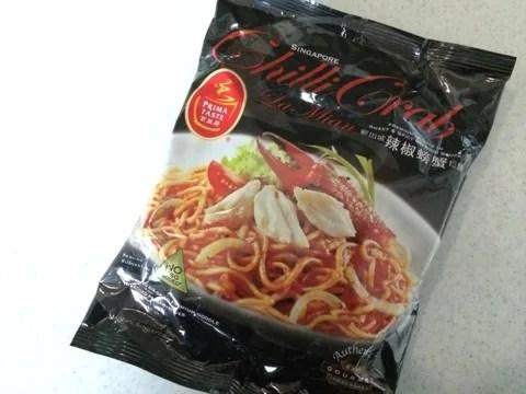 シンガポール土産におすすめのChilli Crab LaMian(チリクラブラーメン)