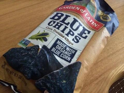 iherbお菓子 Garden of Eatin' Corn 青いトルティーヤチップ