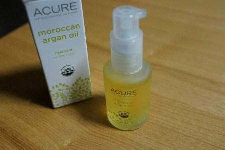 アイハーブの乾燥やアレルギー症状におすすめのAcureのモロッカンアルガンオイル