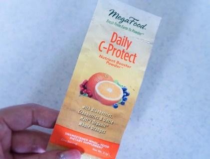 【ビタミンC】紫外線対策にホールフードのビタミンC MegaFood Daily C-Protect