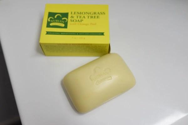 ニキビ予防 乾燥肌向け 殺菌効果のある石鹸 nubianティーツリー&レモングラス