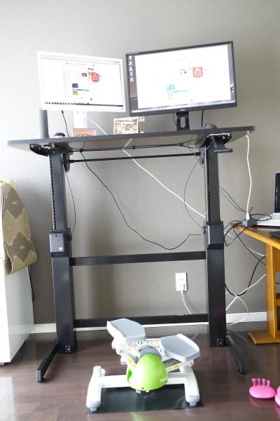 エルゴトロン WorkFit-D 座位・立位両用 昇降デスクレビュー