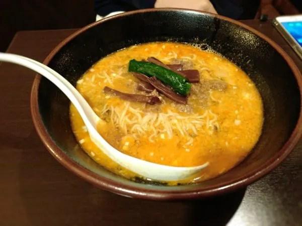 天風久留米担々麺