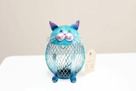 Tooartsの猫型の貯金箱 インテリアやプレゼントに最適