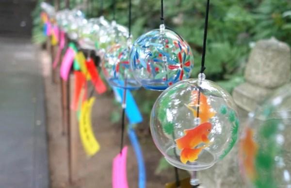 小郡市 如意輪寺(かえる寺)6月中旬から9月頃迄開催の風鈴祭り!