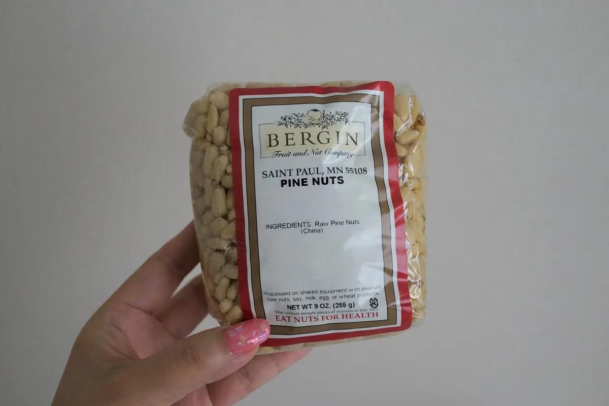 【美容食品】Bergin Fruit and Nut Company PINE NUTS パインナッツ(松の実)
