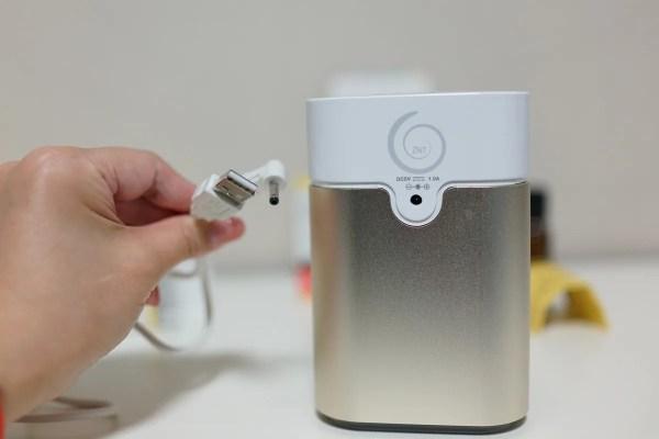 水なしで使用可能なアロマディフューザー!加湿無しなので梅雨や夏でもOK