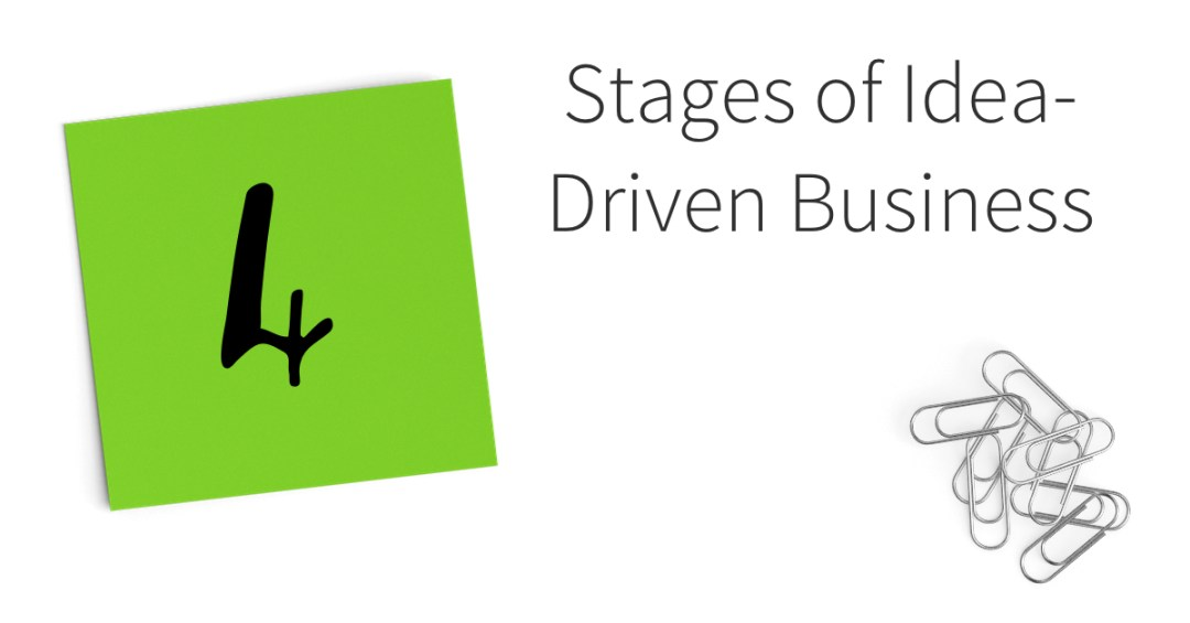 The 4 Stages of Idea-Driven Business