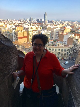 A view from the Sagrada's Tower