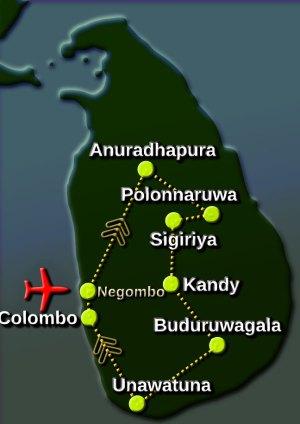 7day-pilgrimage-tour-map
