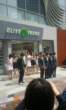 cnblue olive young8