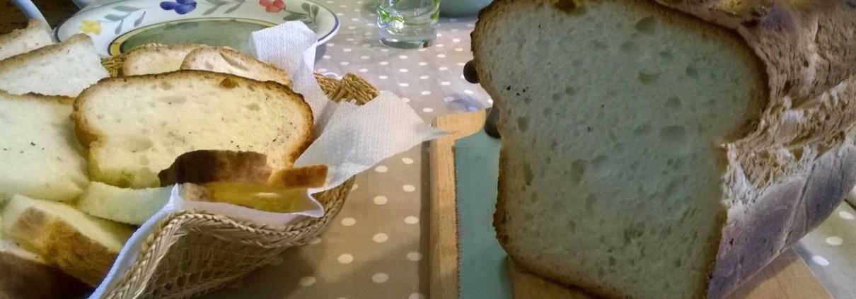 Pane senza glutine e senza lattosio