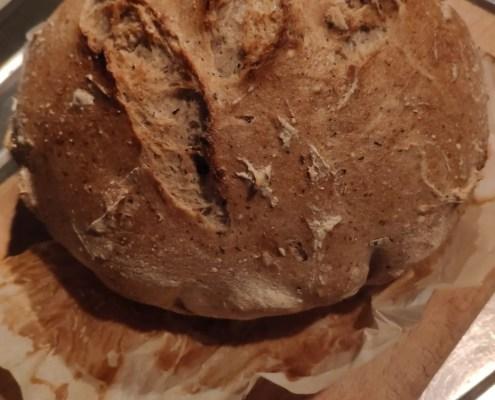 Pane senza glutine, senza lattosio e senza lievito di birra